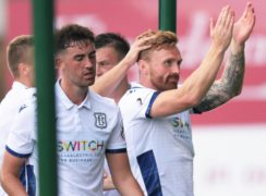 Dundee striker Craig Curran admits he let the club down with his 'conditioning'