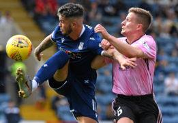 Declan McDaid in action.