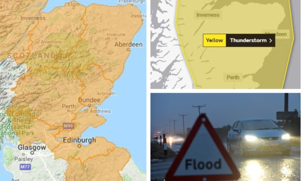 Sepa has issued flood warnings covering all of Tayside and Fife.