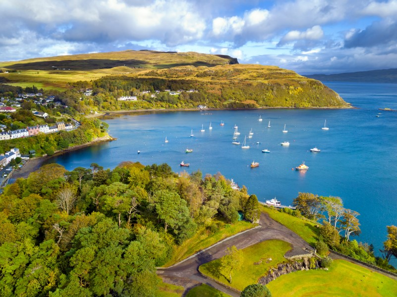 cruise from dundee - Portree