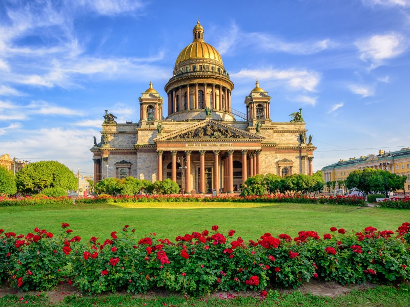 Cruise from dundee - St Petersburg