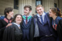 Robin Lawrence, 21, Sara Leone, 24, both graduate in Computer Arts, Chris McEvoy, 22, graduating in Computer Games Application Development, Jordan Hastings, 25 and Tabbie Marshall, 22, both graduate in Computer Arts