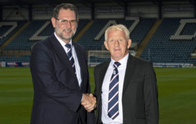 Dundee show 'ambition' with Gordon Strachan recruitment