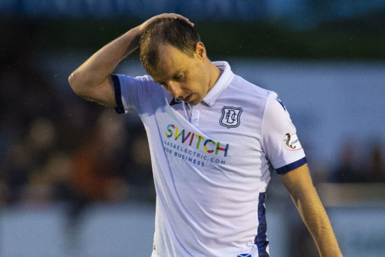 Paul McGowan at full-time in Cove.