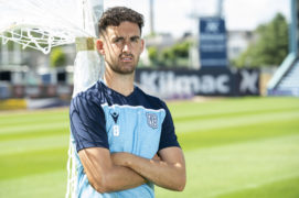 Shaun Byrne delighted to help Dundee team-mate get off the mark