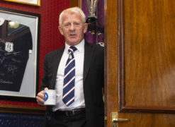 Gordon Strachan will be a hands-on technical director at Dundee
