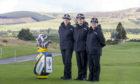 Superintendent Maggie Pettigrew, Chief Superintendents Sharon Milton and Suzie Mertes at the PGA Centenary Course, Gleneagles.