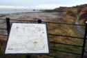 Seafield Beach, Kirkcaldy (stock image).