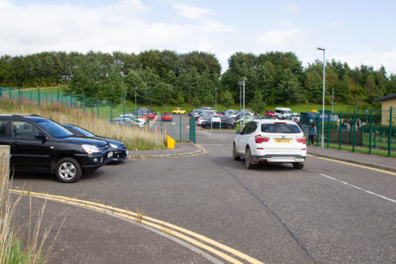 Bad parking has forced the decision to close the gates at Whitehills primary.