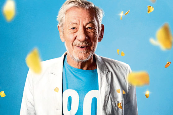 Sir Ian McKellen is touring Courier Country.