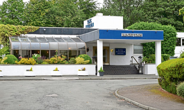 King Malcolm Hotel in Dunfermline.