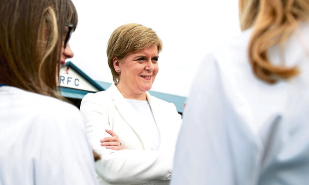 Sturgeon hints a pact with Labour to keep Tories out of government
