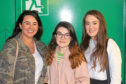 Orlaith Duffy, Erin Slaven and Mikaela McKinley from the On the Ball campaign have welcomed the news that free period products will be offered to female fans at this year's Solheim Cup.