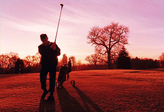 In its twilight? Camperdown Golf Club is facing a battle for survival.