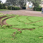 Anger at 'moron' drivers whose 'donuting' ripped up grass in Perthshire park