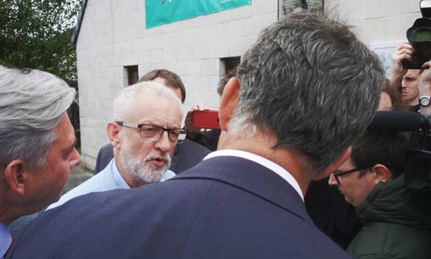 Jeremy Corbyn is in Dunfermline today.