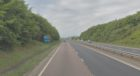 The A92 between Lochgelly and Kirkcaldy, Fife (stock image)