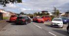 Traffic chaos on Gillburn Road.