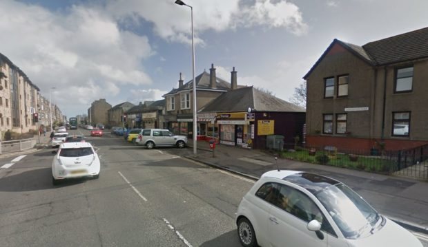 Clepington Road, close to the junction with Graham Street, Dundee (stock image)