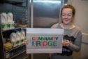 The community fridge is helping reduce food waste