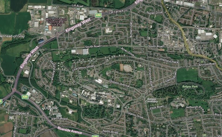 FROM THE AIR: Interactive tool shows how much Dundee and Fife has changed in 75 years - The Courier