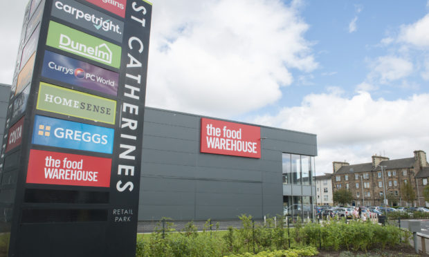 The Food Warehouse sign at St Catherine's Retail Park.