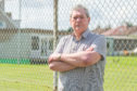 John McDonald outside the Montrose and District Cricket and Rugby Club ground at Union Park.