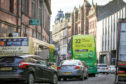 Dundee's Seagate is one of Scotland's most polluted streets