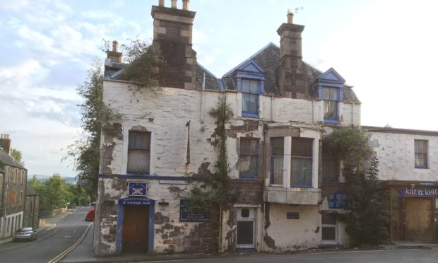 The Kilt and Kelt Hotel in Crieff