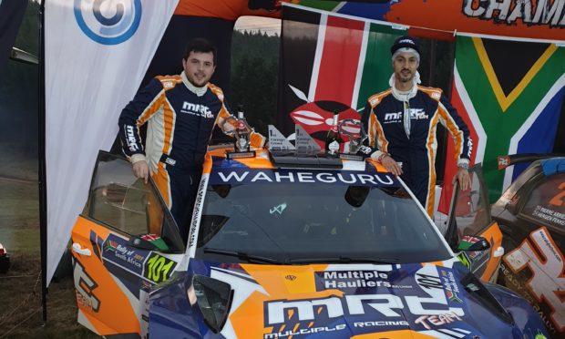 Drew Sturrock and Manvir Baryan secured the 2019 title at Rally Uganda.