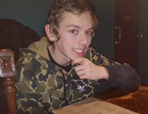 Louis Hubbard, 14, is missing.