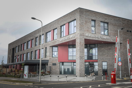 New, energy efficient merged schools, such as the North East Campus, have led to decrease in education spending in Dundee, Councillor Stewart Hunter said.