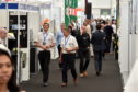 Offshore Europe 2017 at Aberdeen Exhibition and Conference Centre (AECC).