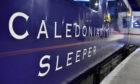 A Caledonian Sleeper train.