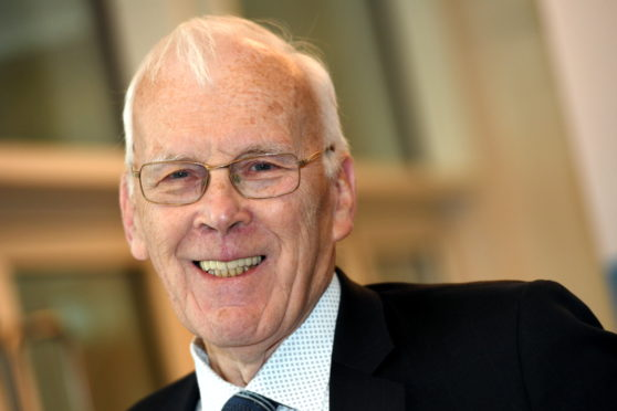 Sir Ian Wood presented with Carnegie Medal for Philanthropy
