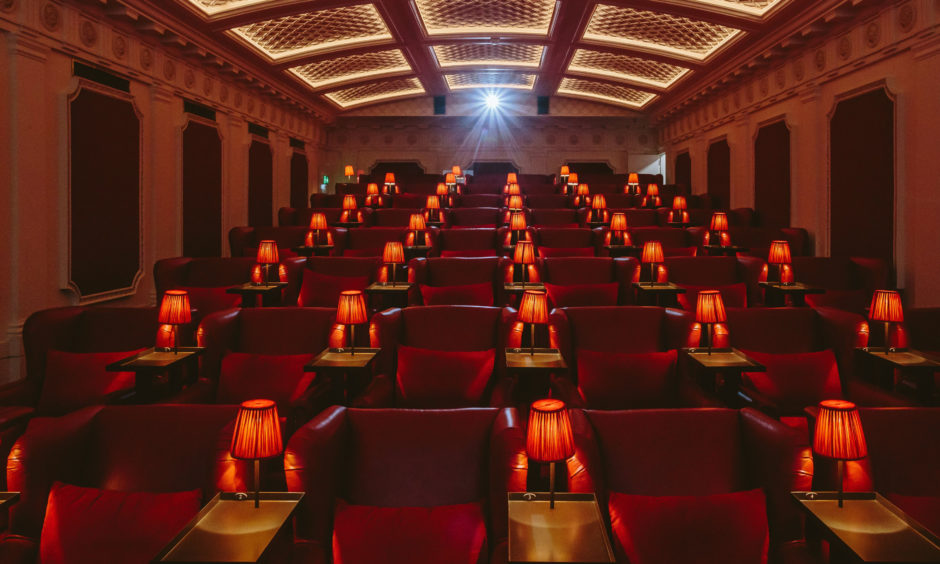 The Picturehouse at the Scotsman Hotel, a new 48-seat cinema within the hotel which will open to the public today.  The Picturehouse at the Scotsman Hotel will show a mixture of the latest releases, cult classics and curated releases.