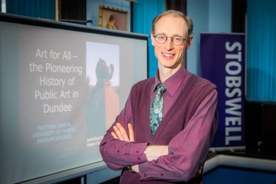 Matthew Jarron (Curator of Museum Services, Dundee University)