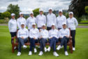 The 2019 Europe Solheim Cup team at Gleneagles:  Back Row: (L-R) Celine Boutier, Georgia Hall, Caroline Hedwall, Anne Van Dam, Anna Nordqvist, Suzann Petterson, Bronte Law. Front Row: (L-R) Caroline Masson, Azahara Munoz, Catriona Matthew, Carlota Ciganda, Charley Hull.