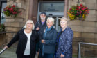 Scone community councillors Neil Myles, Dorothy Guthrie, Vanessa Shand and Hazel McKinnon hoped to see the decision pushed back.