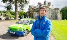 Thomas Johnstone of Fife who is taking Scotland's rallying world by storm.