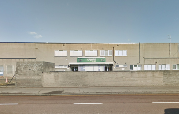 The Xplore depot on East Dock Street was broken into.
