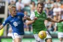 Ali McCann in action against Hibs.