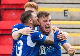 St Johnstone's Callum Hendry believes in partnership with Chris Kane