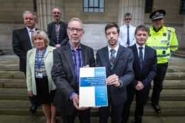 Chief superintendent Andy Todd attended last week's launch of the Dundee Drugs Commission report.
