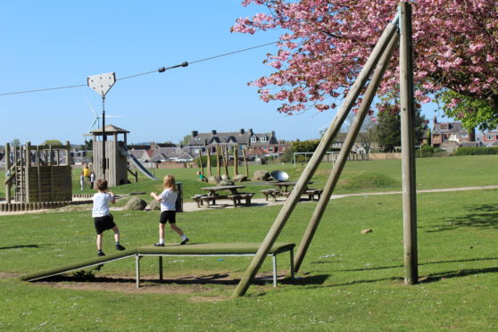Fifers are being urged to air their views on play parks like this one at Thornton.