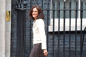 Defra Secretary of State Theresa Villiers outside 10 Downing Street.