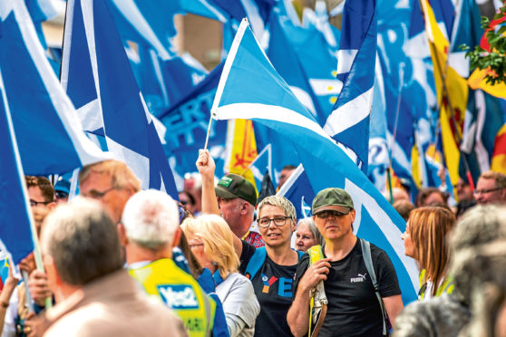 The All Under One Barrier pro-independence march took place in Perth in September.