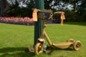 A golden scooter was first to be stolen from Beveridge Park.