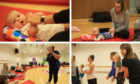 Baby yoga in Dundee.