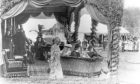 """""""A corner of the Queen's Pavilion, Balmoral Gathering 1898."""""""